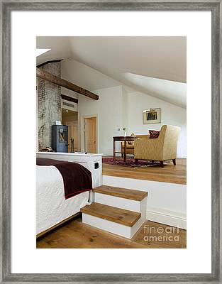 Pädaste Manor Bedroom Framed Print by Jaak Nilson