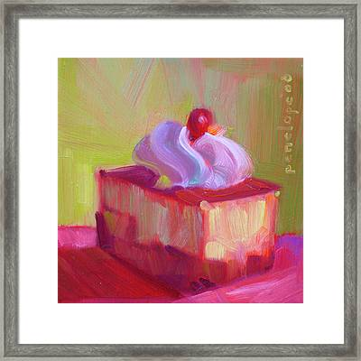 P. S. I Love You Framed Print by Penelope Moore