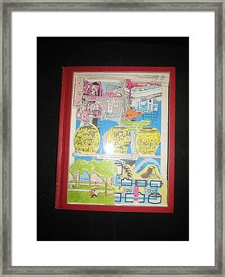 p-t Framed Print by Francisco Magos