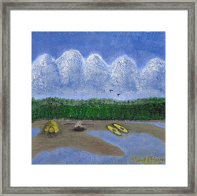 Pacific Northwest Camping Framed Print