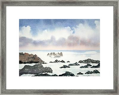 Pacific Ocean Framed Print