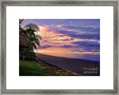 Pacific Sunrise Framed Print