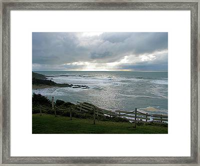 Pacific Twilight Framed Print