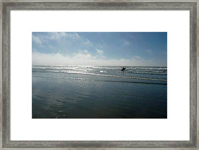 Pacifica Framed Print by E White