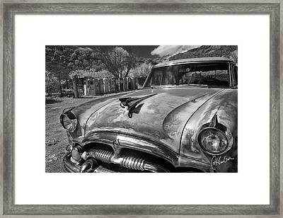 Packard Framed Print by Christine Hauber