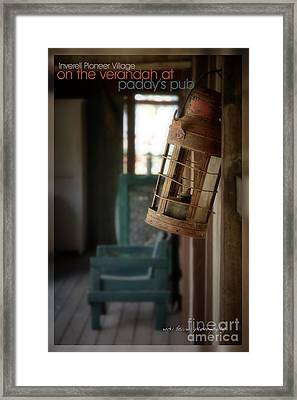 Framed Print featuring the photograph Paddy's Pub by Vicki Ferrari