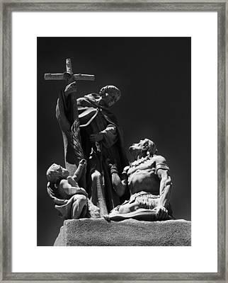 Padre Garces Framed Print by Franklin Jeffers