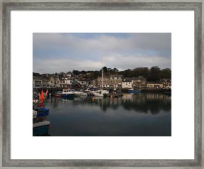 Padstow Harbour Framed Print by Christopher Mercer