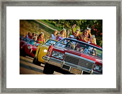 Pageant Parade Framed Print