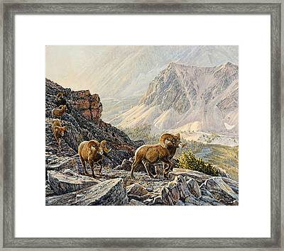Framed Print featuring the painting Pahsimeroi Dawn by Steve Spencer