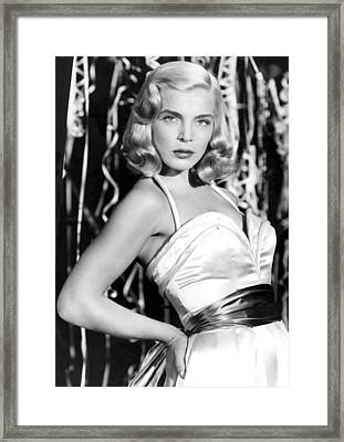 Paid In Full, Lizabeth Scott, 1950 Framed Print