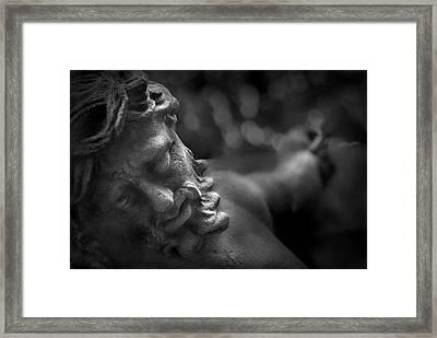 Pain Framed Print by Marc Huebner