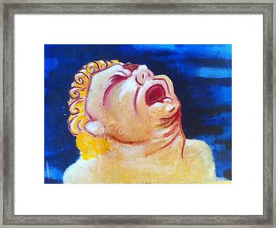Pain Framed Print