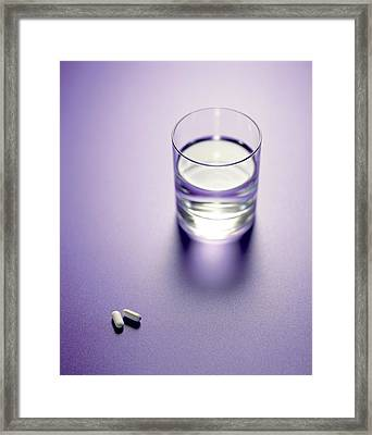 Painkillers Framed Print by Lawrence Lawry