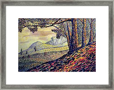 Painland #5 Framed Print by Alfredo Gonzalez