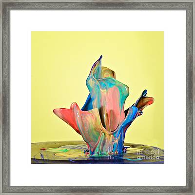 Paint Art Framed Print by Susan Candelario