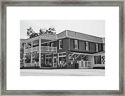 Paint Bank Va General Store Framed Print