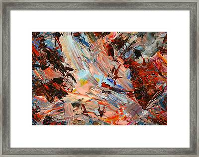 Paint Number 36 Framed Print by James W Johnson