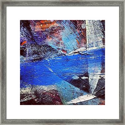 Paint Table 4 Framed Print