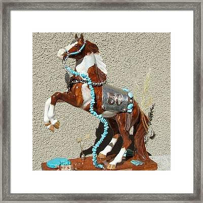 paint The Skya Trail Of Painted Framed Print