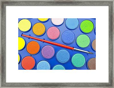 Paintbox Framed Print by Joana Kruse