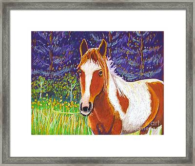 Paintchip Framed Print by Harriet Peck Taylor