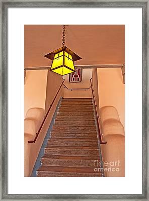 Painted Desert Inn Interior Framed Print by Bob and Nancy Kendrick