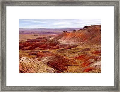 Painted Desert Framed Print by Mike McGlothlen