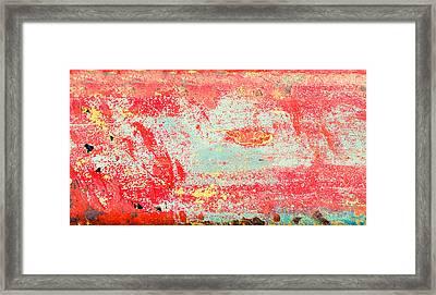 Painted Metal Framed Print by Tom Gowanlock