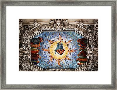 Painted Roof Framed Print by Anthony Citro