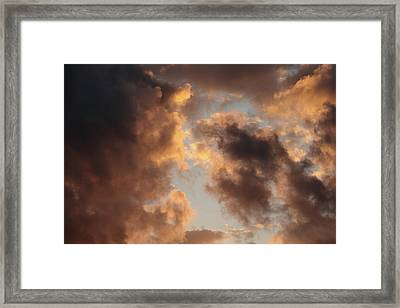 Painter Clouds Framed Print by Nick  Shirghio