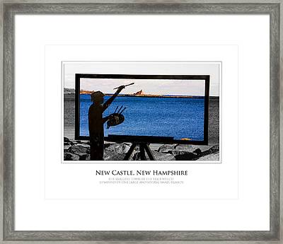 Painter Framed Print by Jim McDonald Photography