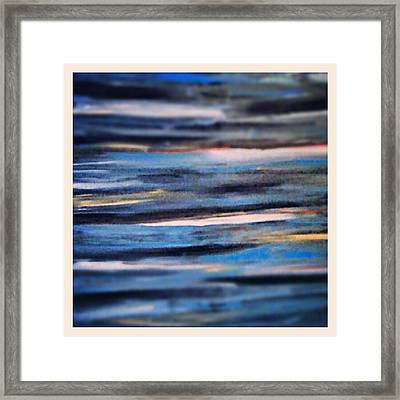 Painting Of Emotions Framed Print