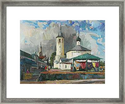 Paints Of Old Suzdal Framed Print