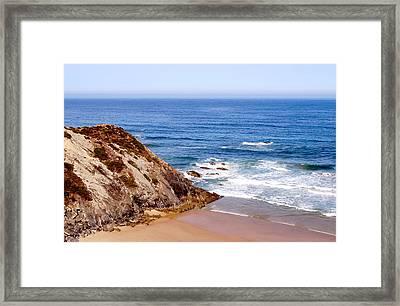 Paisajes Del Algarve Framed Print by Eire Cela