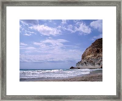 Paisajes Del Cabo De Gata Framed Print by Eire Cela