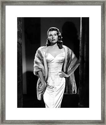 Pal Joey, Rita Hayworth, 1957 Framed Print