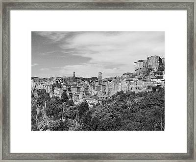 Palace And City Framed Print by Marco Di Fabio