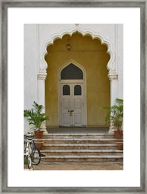 Framed Print featuring the photograph Palace Door by David Pantuso