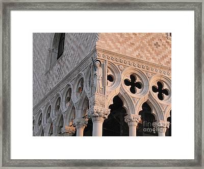 Palace Ducal. Venice Framed Print