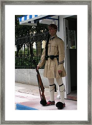 Palace Guard Framed Print