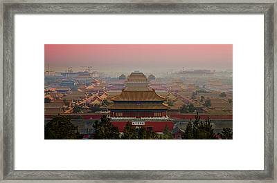 Palace Museum Framed Print by Www.gojiberryphotography.com