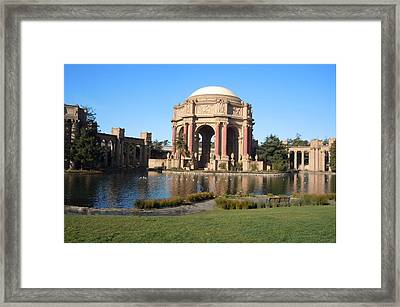Palace Of Fine Arts Framed Print by Art King