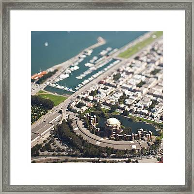Palace Of Fine Arts Framed Print by Eddy Joaquim
