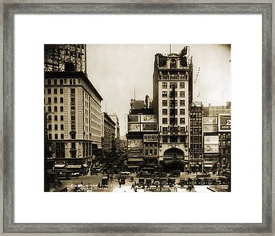 Palace Theatre, New York City, Built Framed Print by Everett