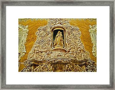 Palacio Del Marques De Dos Aguas - Valencia Framed Print