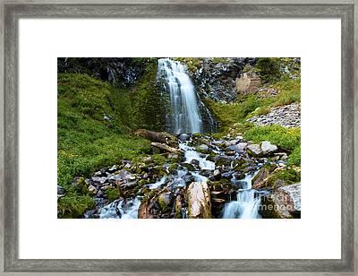 Palaikni Falls Valley Framed Print