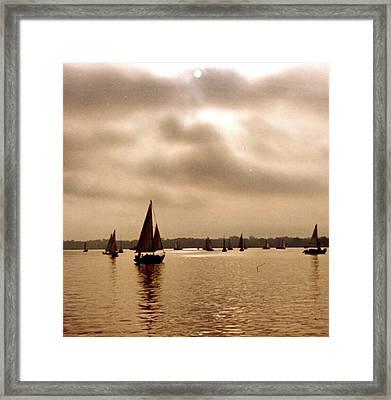 Palatka Framed Print by Debbie Sikes