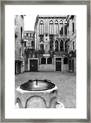 Palazzo Bembo-boldu Venice Italy Framed Print