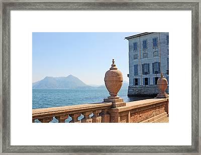 Palazzo Borromeo Framed Print